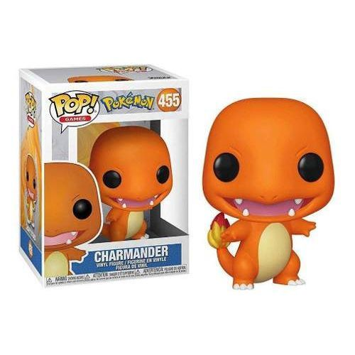Funko Pop #455 - Charmander - Pokémon  - Pop Funkos