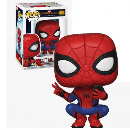 Funko Pop #468 - Spider-Man - Marvel  - Pop Funkos