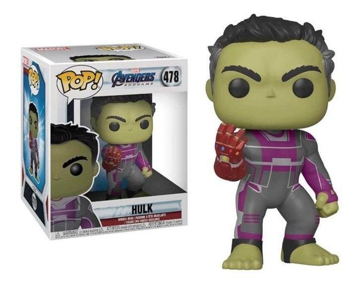 Funko Pop #478- Hulk - Vingadores Ultimato  - Pop Funkos