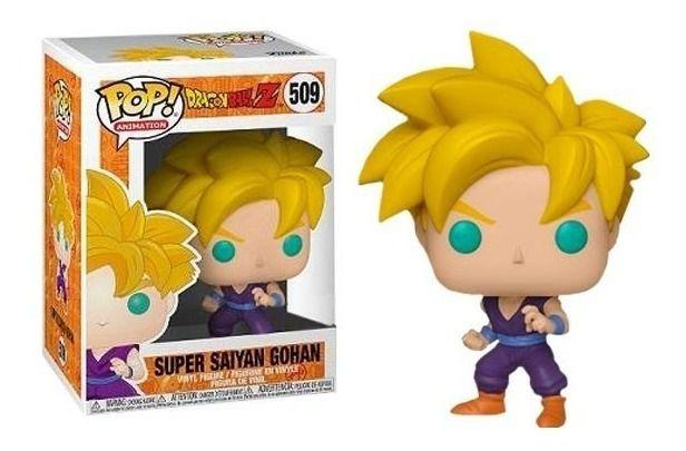Funko Pop #509 - Super Saiyan Gohan - Dragon Ball Z  - Pop Funkos