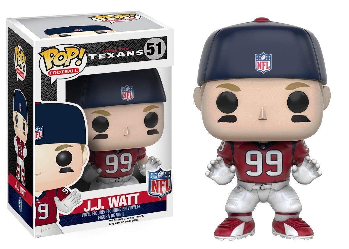 Funko Pop #51 - J.J Watt  - Houston Texans - NFL  - Pop Funkos