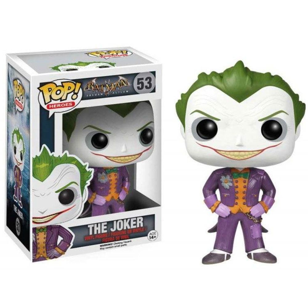 Funko Pop #53 - The Joker - Batman  - Pop Funkos