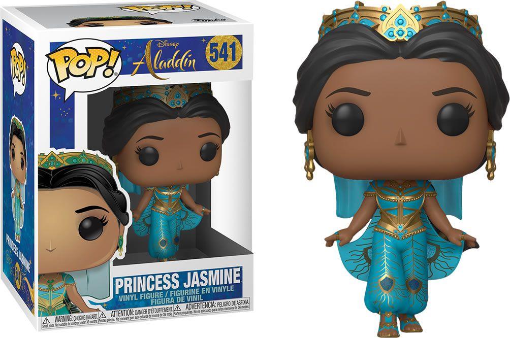 Funko Pop #541 - Princess Jasmine - Aladdin  - Pop Funkos