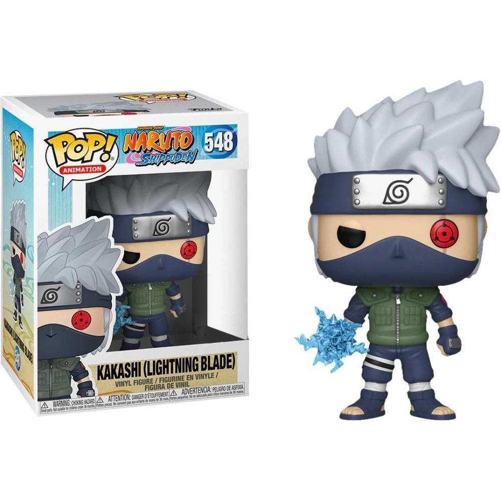 Funko Pop #548 - Kakashi  (Lightning Blade)- Naruto Shippuden  - Pop Funkos