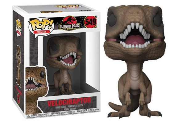 Funko Pop #549 - Velociraptor - Jurassic Park  - Pop Funkos