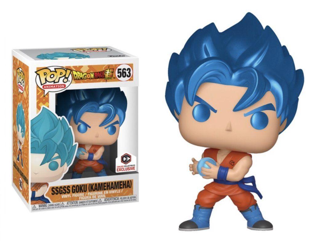Funko Pop #563 - SSGSS Goku (Kamehameha)  - Dragon Ball  - Pop Funkos