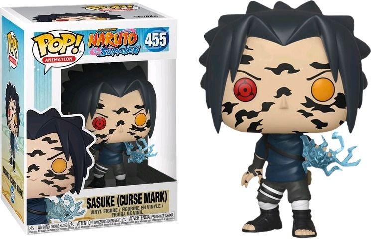 Funko Pop #455 - Sasuke (Curse Mark) - Naruto Shippuden  - Pop Funkos