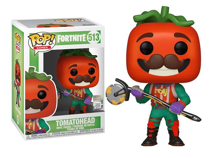 Funko Pop #513- Tomatohead - Fortnite  - Pop Funkos