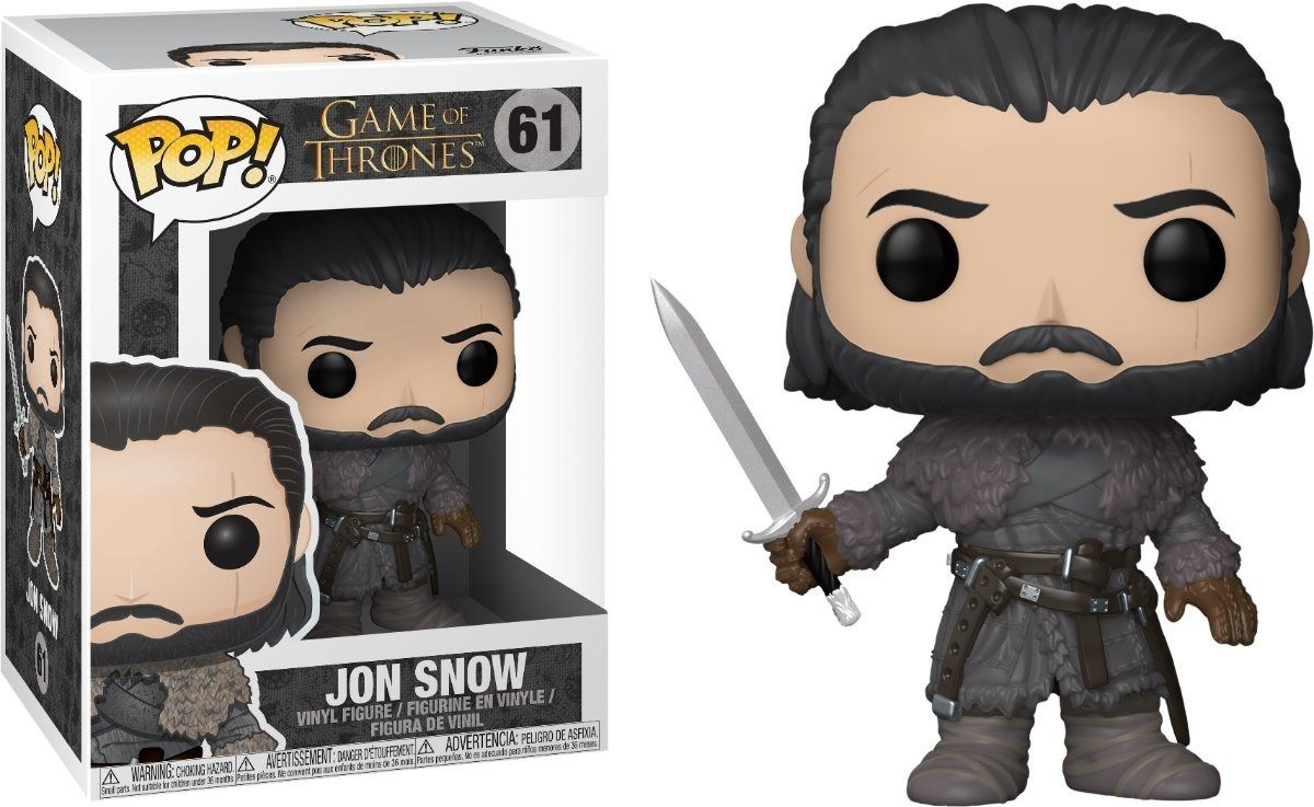 Funko Pop #61- Jon Snow - Game of Thrones   - Pop Funkos