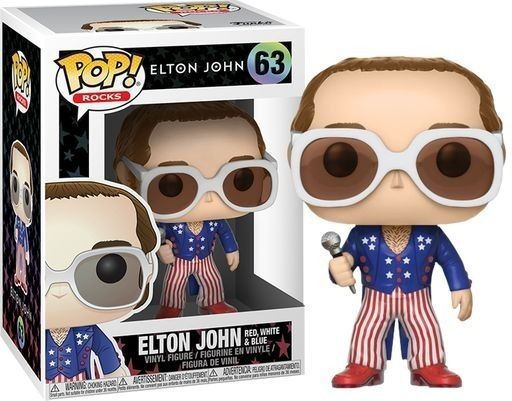 Funko Pop #63 - Elton John  - Pop Funkos
