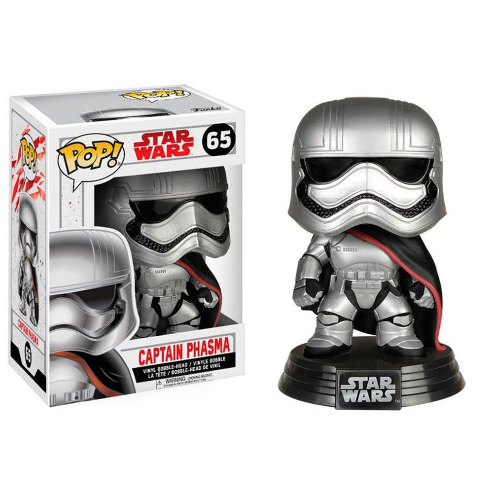 Funko Pop #65 - Captain Phasma - Star Wars  - Pop Funkos