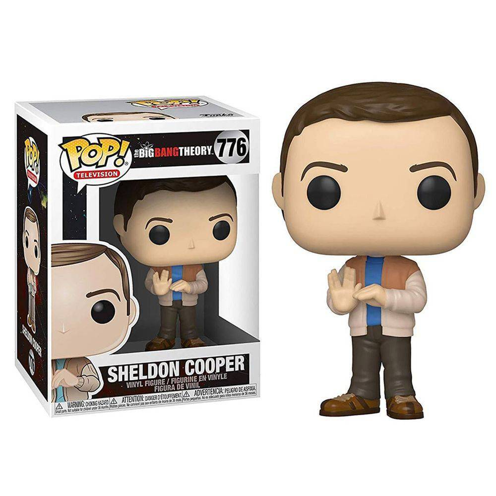 Funko Pop #776 - Sheldon Cooper - The Big Bang Theory  - Pop Funkos