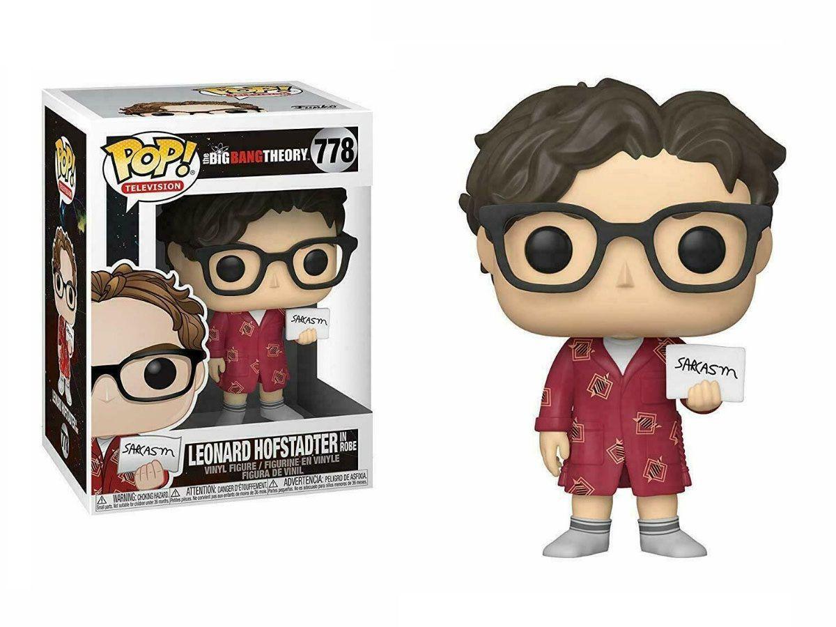 Funko Pop #778 - Leonard Hofstadter - The Big Bang Theory  - Pop Funkos
