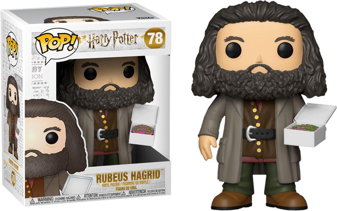 Funko Pop #78 - Rubeus Hagrid - Harry Potter  - Pop Funkos