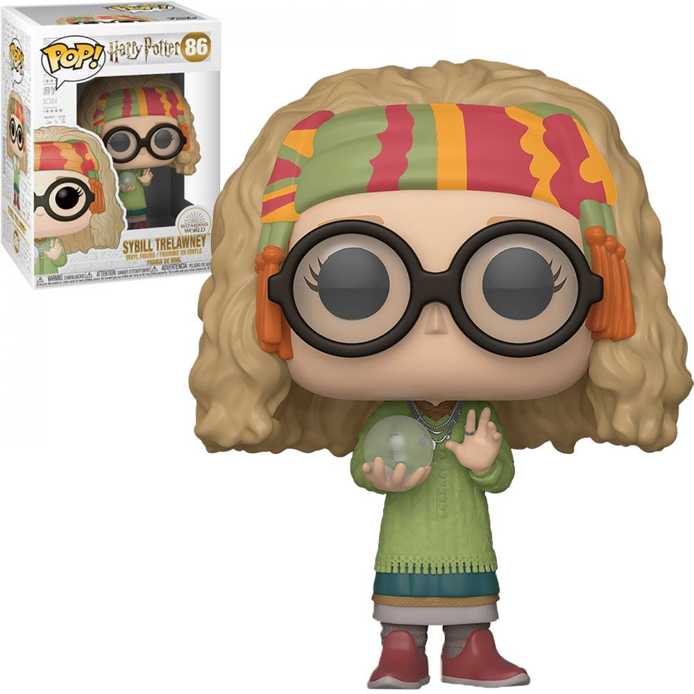 Funko Pop #86 - Sybill Trelawney - Harry Potter  - Pop Funkos