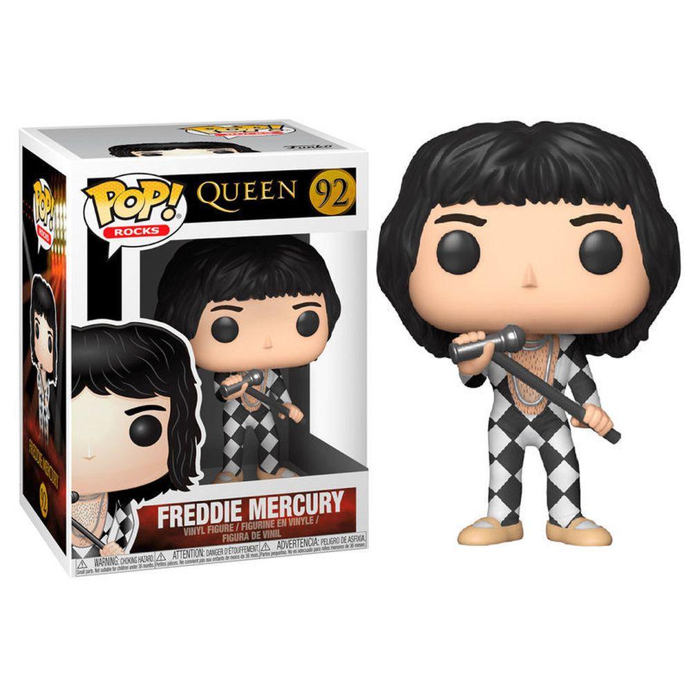 Funko Pop #92 - Freddie Mercury - Queen  - Pop Funkos