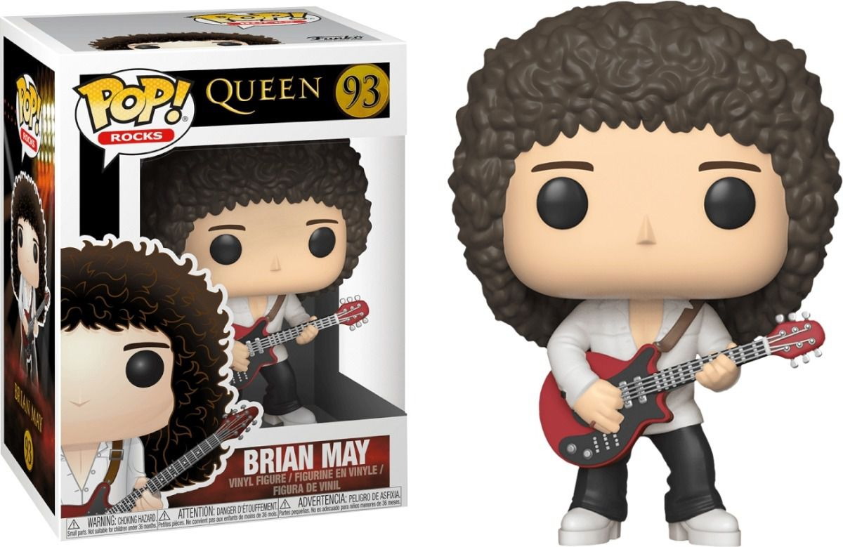 Funko Pop #93 - Brian May - Queen  - Pop Funkos