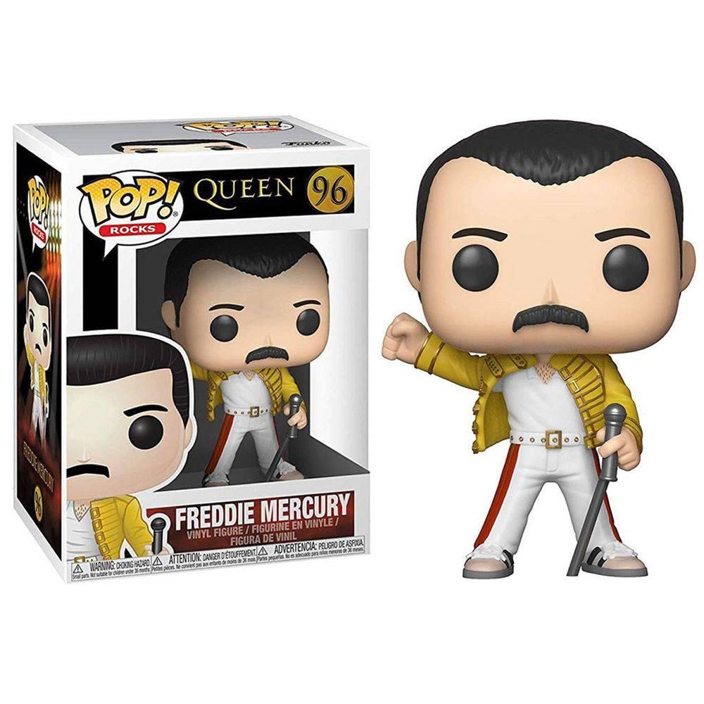 Funko Pop #96 - Freddie Mercury - Queen  - Pop Funkos