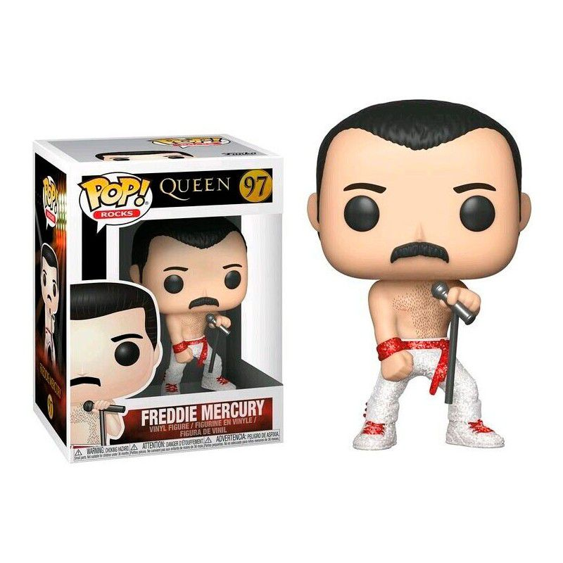 Funko Pop #97 - Freddie Mercury - Queen  - Pop Funkos