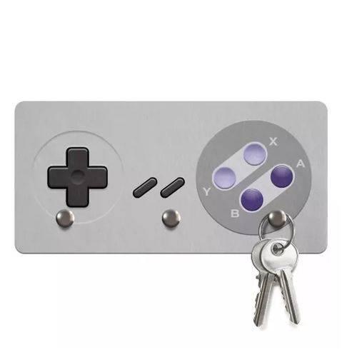 Porta Chaves Gamer Joystick 16-bits  - Pop Funkos