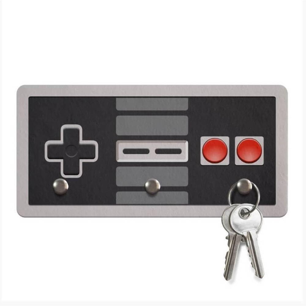 Porta Chaves Gamer - Joystick 8-bits  - Pop Funkos