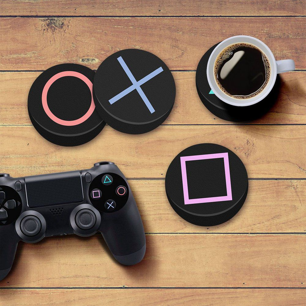 Porta Copos Gamer Playstation  - Pop Funkos