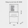 Máquina de Gelo Escama LINHA EVOLUTION  ZG 300E