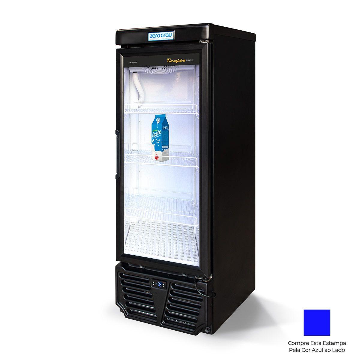 Cervejeira Zero Grau 240 litros até -7° 220V - Estampas Divertidas
