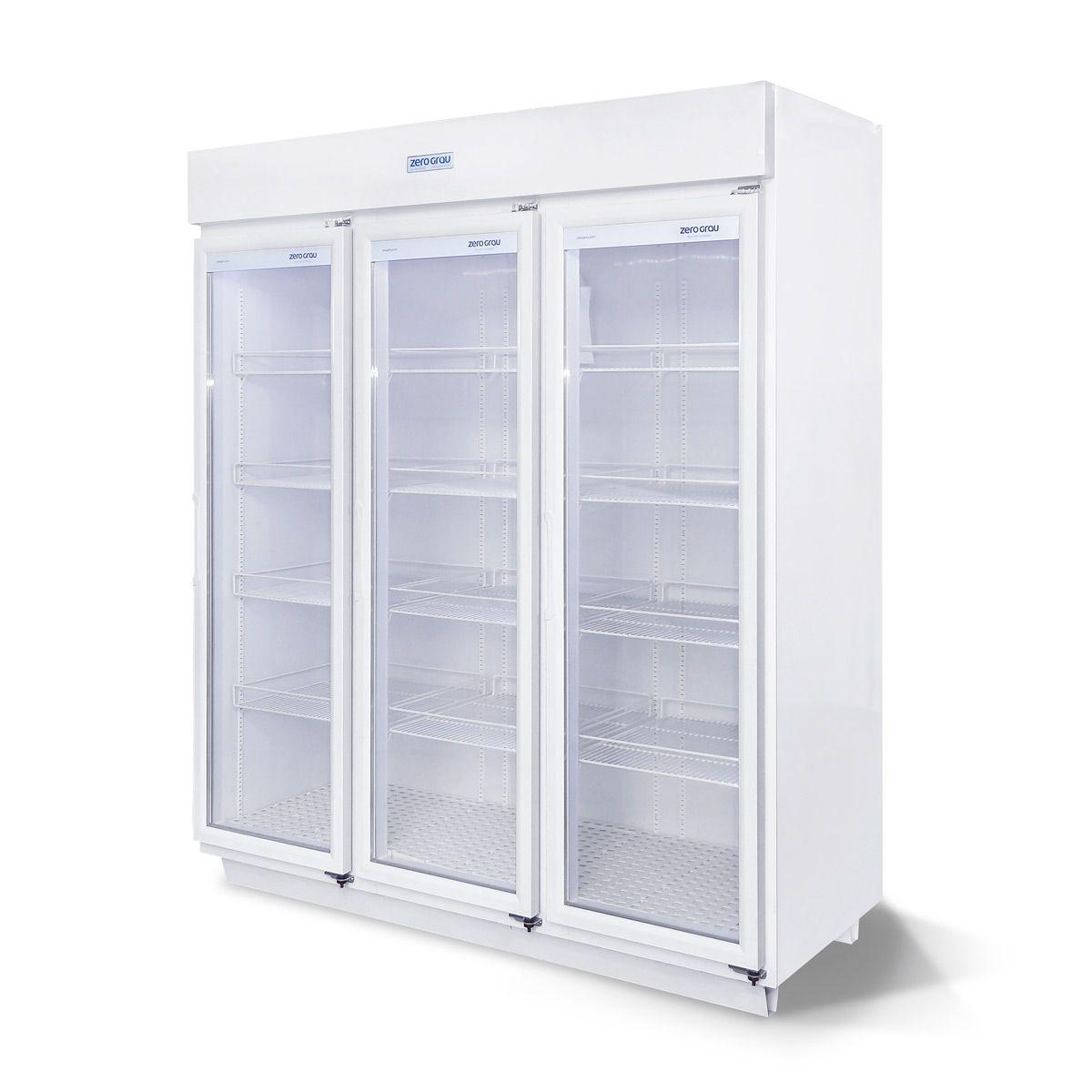 Expositor 1590 Litros 3 Portas para Congelados Até -18 Graus  - Zero Grau Store