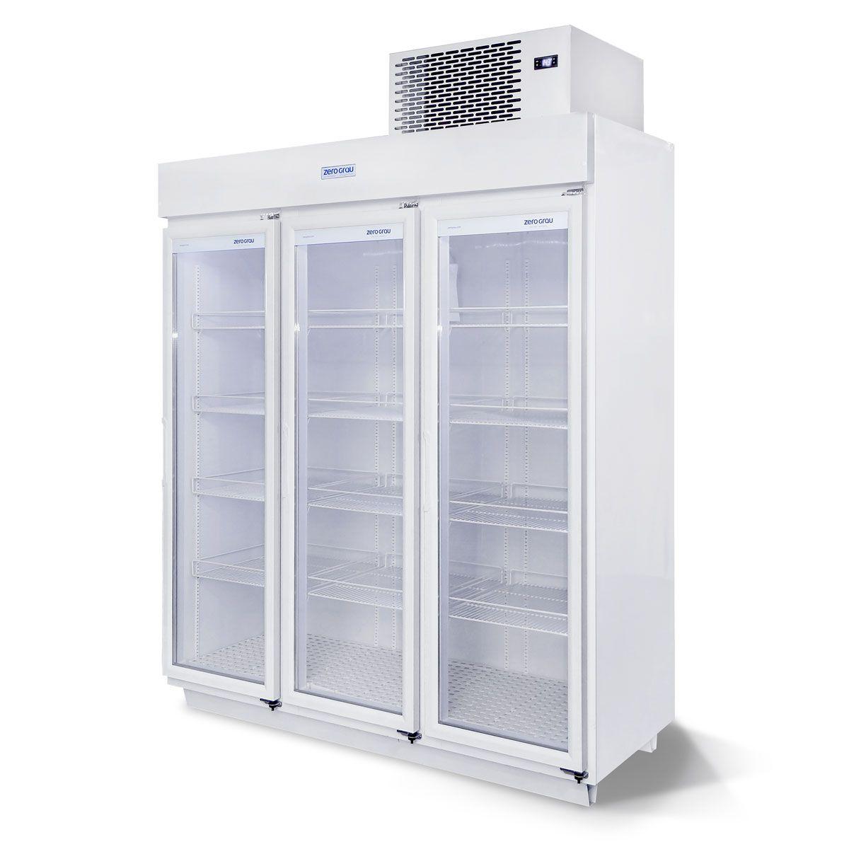 Expositor 1590 Litros 3 Portas para Resfriados Até - 7 Graus
