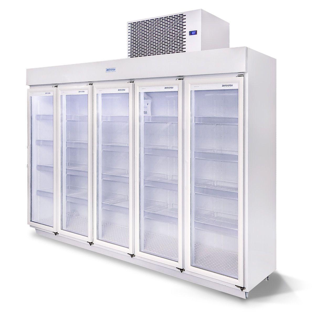 Expositor 2700 Litros 5 Portas para Resfriados Até -7 Graus