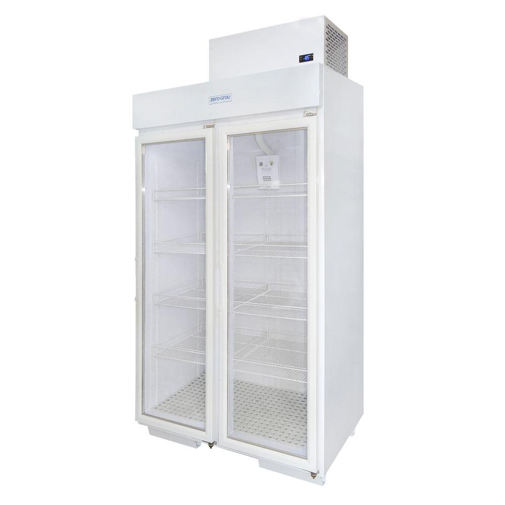 Expositor Cervejeira 1020 Litros 2 Portas para Resfriados Até -7 Graus  - Zero Grau Store