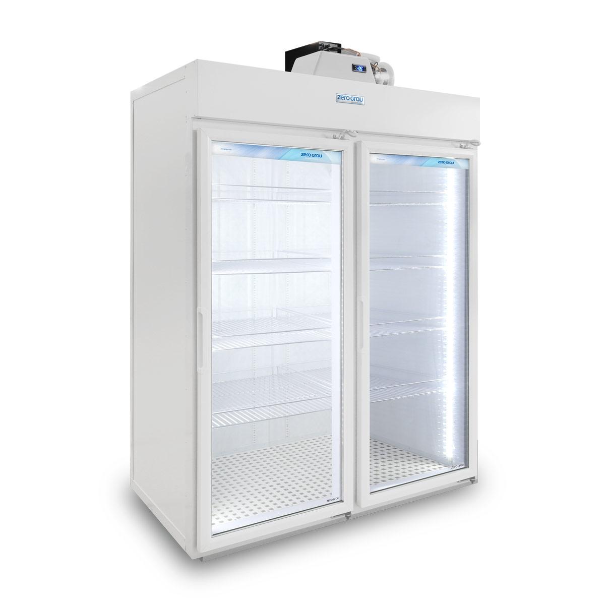 Expositor Modular 2 Portas para Resfriados - 1.580 Litros