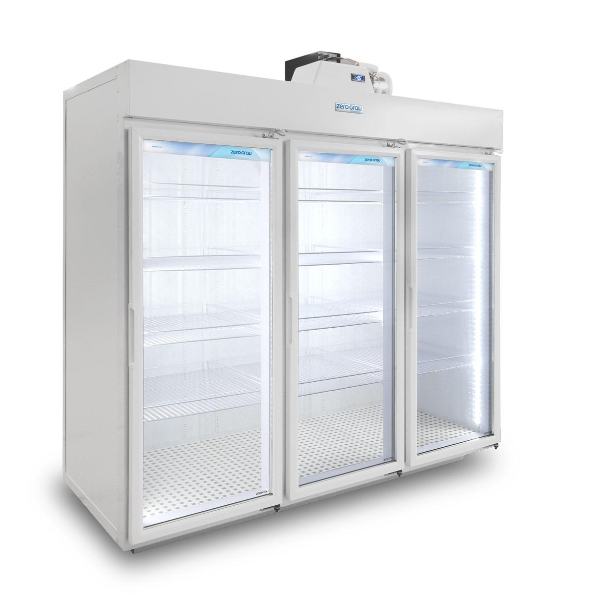 Expositor Modular 3 Portas para Resfriados - 2.440 Litros