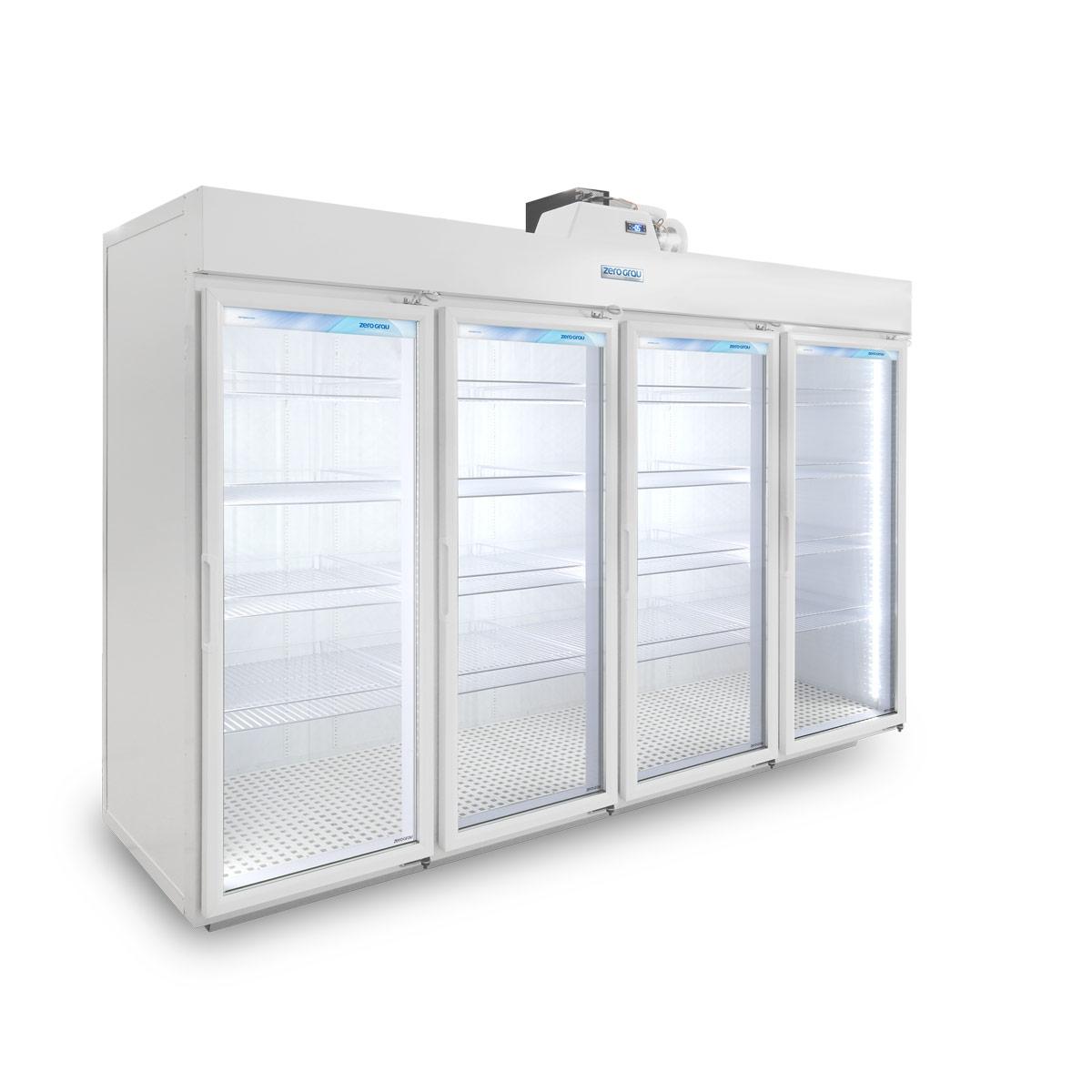 Expositor Modular 4 Portas para Resfriados - 3.290 Litros