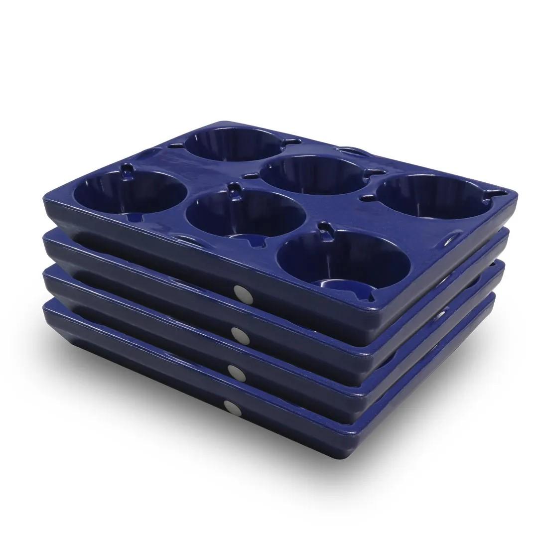 Kit 4 Bandejas 24 marmitas para Hot Box 100L