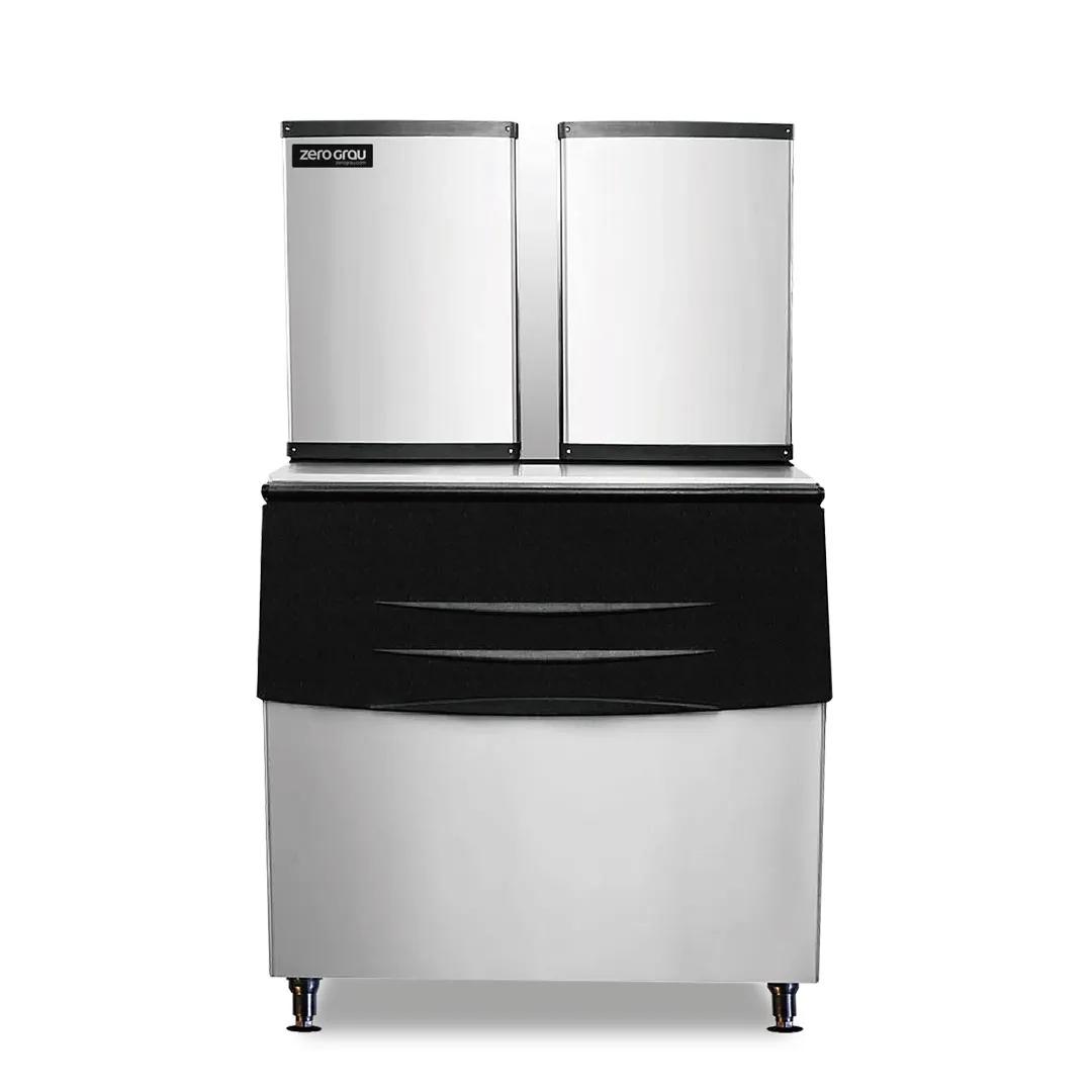 Máquina Automática Para Fabricação de Gelo em Cubo 680kg/dia