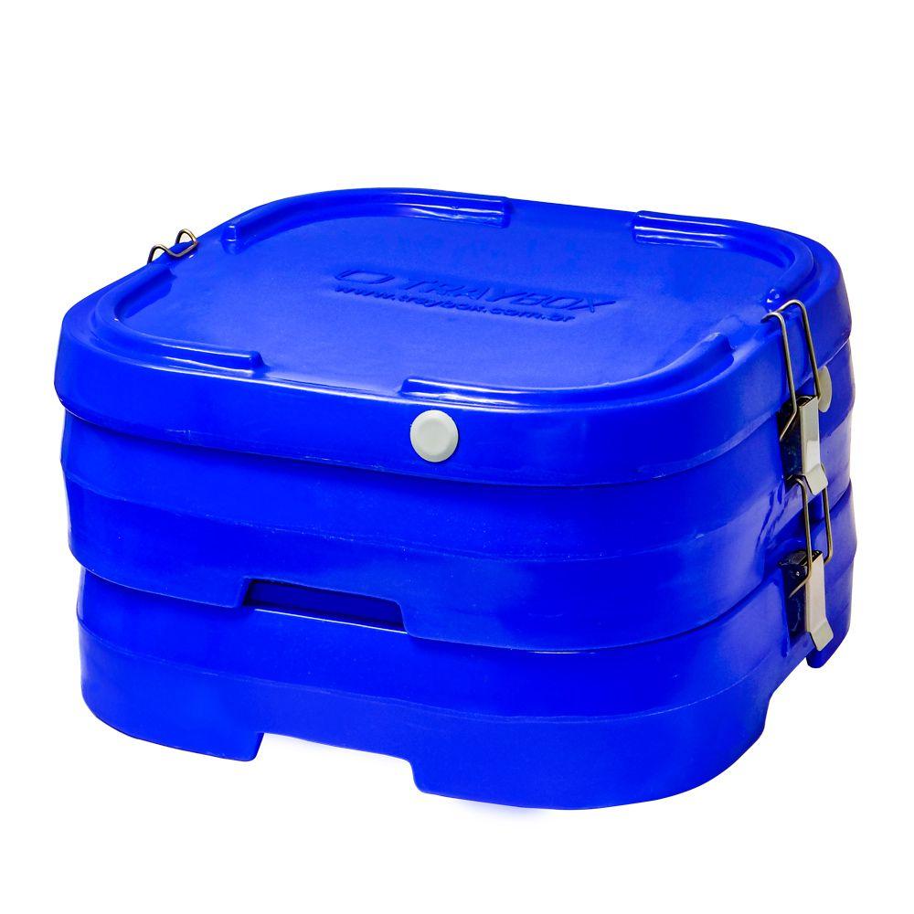 Marmibox para 4 marmitas rasas ou fundas  - Zero Grau Store