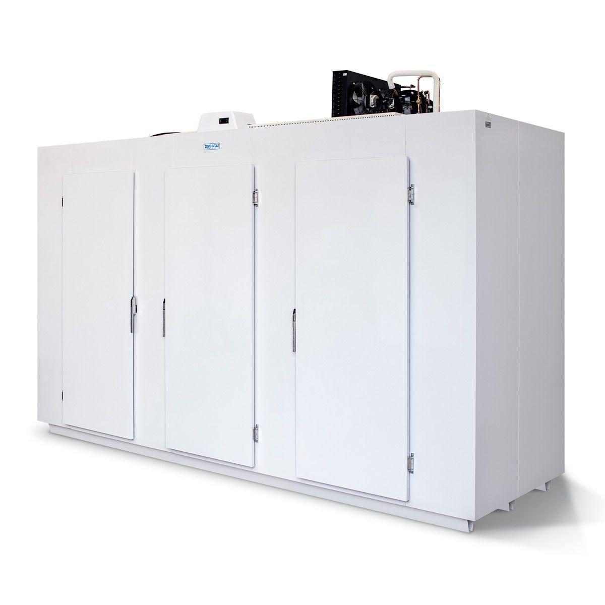 Minicâmara de Painéis Modulares 100 Caixas ou 6835 Litros para Congelados