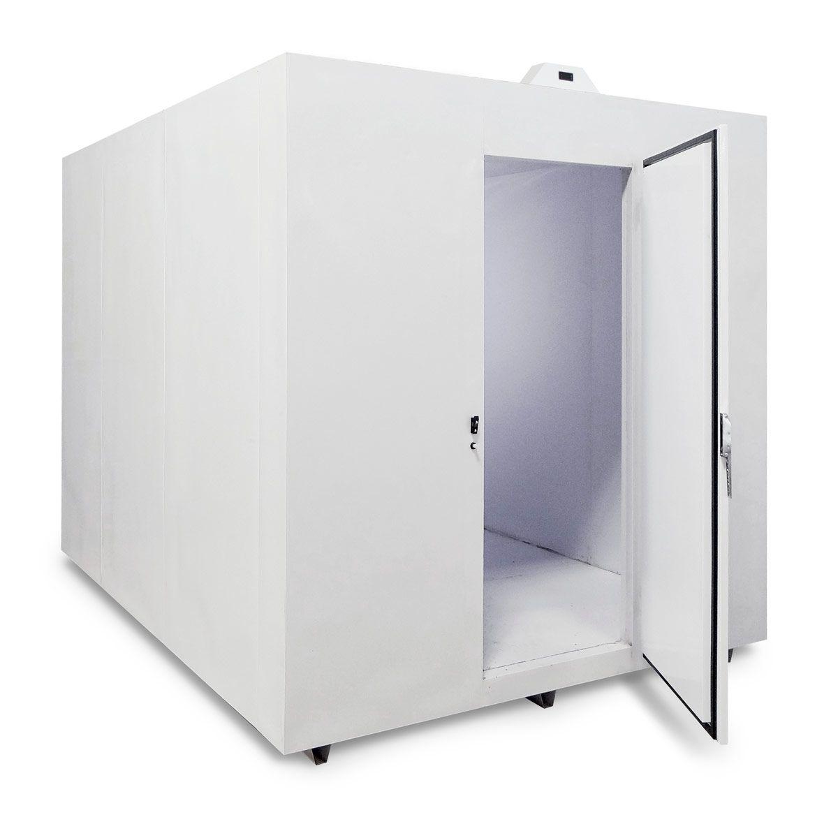 Minicâmara de Painéis Modulares 125 Caixas ou 9600 Litros para Resfriados