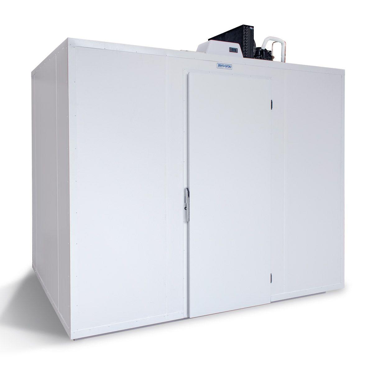 Minicâmara de Painéis Modulares 90 Caixas ou 7150 Litros para Congelados