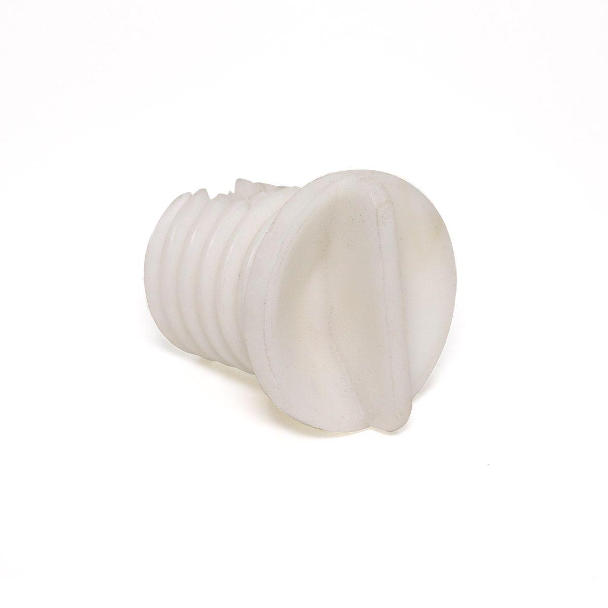Tampa Com Rosca Polipropileno + Talco Para Caixas Plásticas