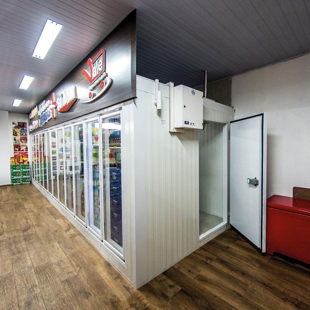 Walk In Cooler Com Painéis Moduláveis - Preço a Consultar