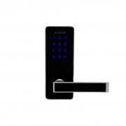 Kit Fechadura Eletrônica G-Locks Ébano 600 Smart Plus Esquerda + Gateway Wifi Alexa