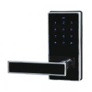 Fechadura Eletrônica G-Locks Ébano 100 - Preta - Esquerda