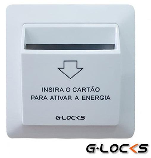 Economizador Redutor Energia Hotel Cartão 13,56 Mhz G-locks