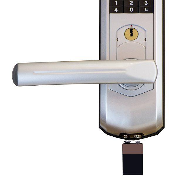 Fechadura Biométrica G-Locks Classic 61 - Prata - Esquerda