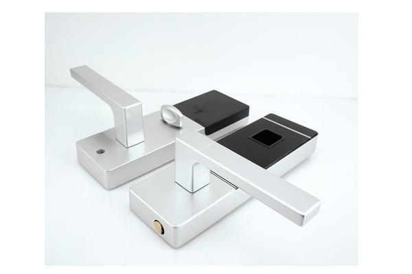 Fechadura Biométrica G-Locks Ébano 300 - Prata - Direita