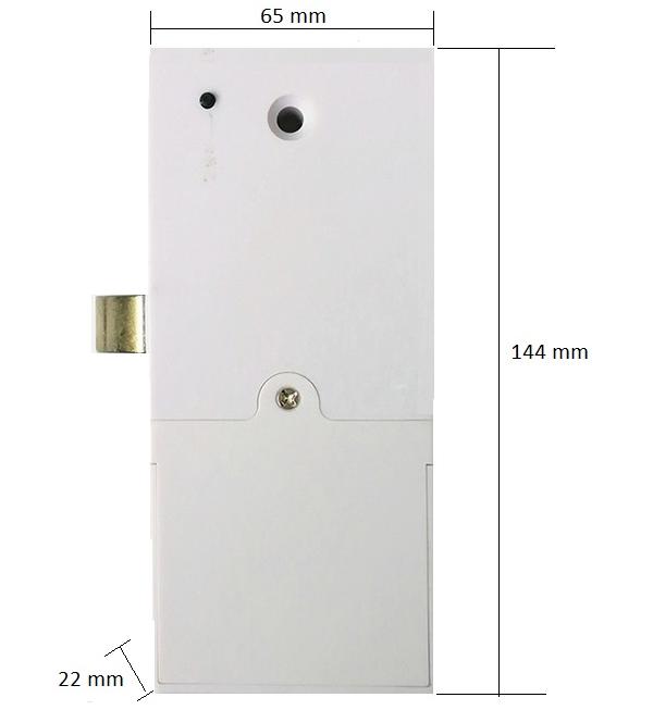 Fechadura Biométrica G-Locks GAR 1400 Para Armários e Gavetas