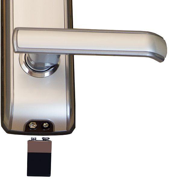 Fechadura Biométrica G-Locks Graceful 300 - Prata - Direita